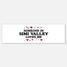 Loves Me in Simi Valley Bumper Bumper Bumper Sticker