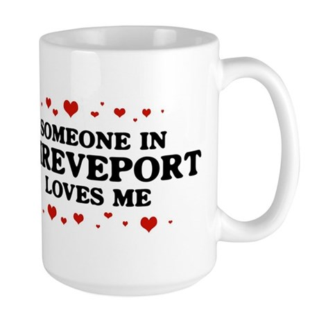 Loves Me in Shreveport Large Mug