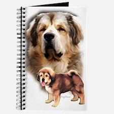 Tibetan Mastiff portrait Journal