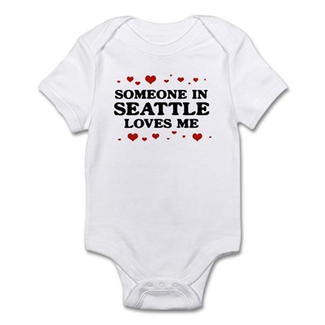 Loves Me in Seattle Infant Bodysuit
