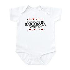 Loves Me in Sarasota Infant Bodysuit