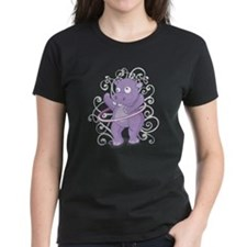 Purple Hippo Tee