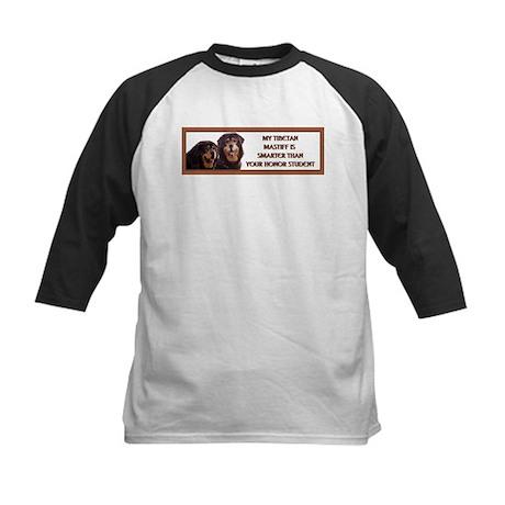 Tibetan Mastiff Honor 2 Kids Baseball Jersey