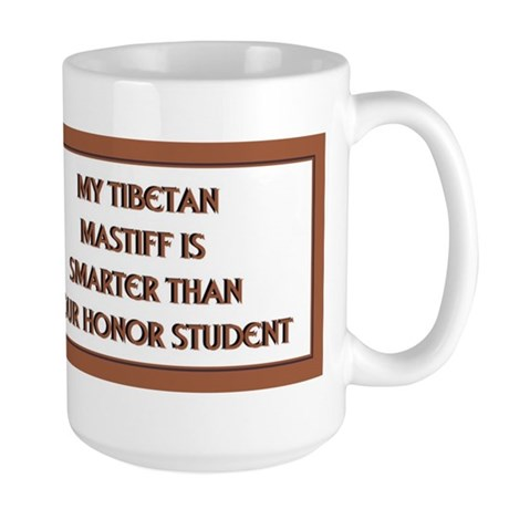 Tibetan Mastiff Honor 2 Large Mug