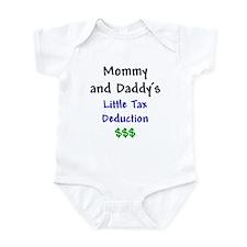 Mommy & Daddy's Little Tax Deduction Onesie