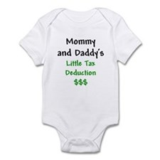 Mommy & Daddy's Little Tax Deduction Onesie