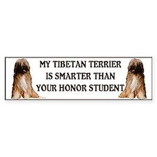 Tibetan Terrier Honor Bumper Bumper Sticker