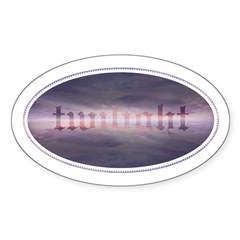 Twilight Mood Oval Decal