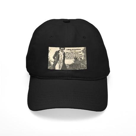 Ludwig van Beethoven Black Cap
