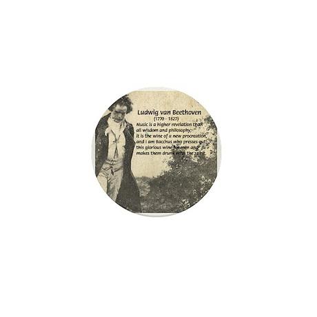 Ludwig van Beethoven Mini Button