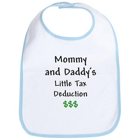 Mommy & Daddy's Little Tax Deduction Bib