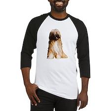 Tibetan Terrier portrait Baseball Jersey