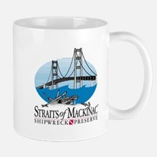 Mackinac Bridge Logo Mug