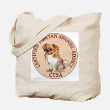 Tibetan Spaniel Addict Tote Bag
