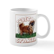 Tibetan Spaniel portrait Mug