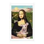 Mona Lisa / Greyhound #1 Mini Poster Print