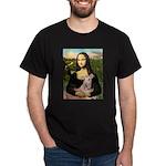 Mona Lisa / Greyhound #1 Dark T-Shirt