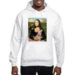 Mona Lisa / Greyhound #1 Hooded Sweatshirt