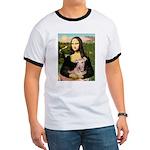 Mona Lisa / Greyhound #1 Ringer T