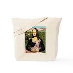 Mona Lisa / Greyhound #1 Tote Bag