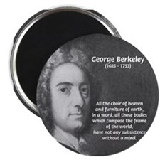"Irish Idealist: George Berkeley 2.25"" Magnet (10 p"
