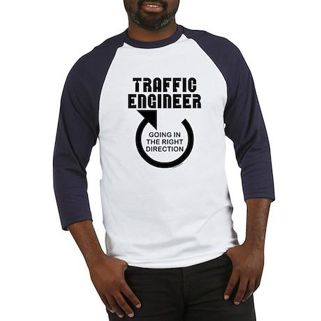 Traffic Engineer Direction Baseball Jersey
