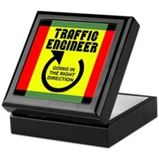 Traffic Engineer Direction Keepsake Box