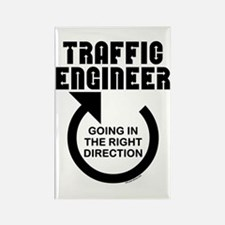 Traffic Engineer Direction Rectangle Magnet
