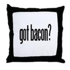 Unique Got bacon Throw Pillow