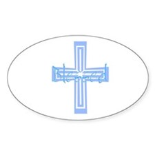 Blessed! Oval Decal