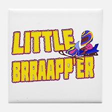 Little Brraapp'er Tile Coaster