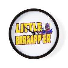 Little Brraapp'er Wall Clock