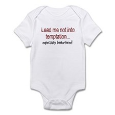 Lead Me Not Into Temptation Infant Bodysuit