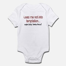 Lead Me Not Into Temptation Infant Bodysuit