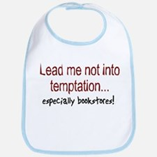 Lead Me Not Into Temptation Bib