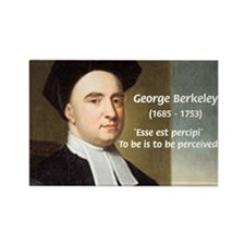 Philosopher: George Berkeley Rectangle Magnet