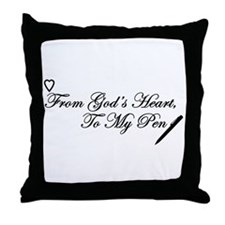 Writer's Inspiration Throw Pillow