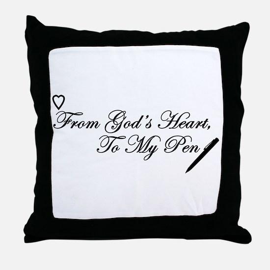 Writer's Inspiration Throw Pillow