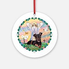 Blessing /Pinscher Ornament (Round)