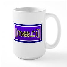 """Large Phonetic """"Maddie"""" Mug"""