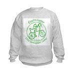 Green Logo Kids Sweatshirt