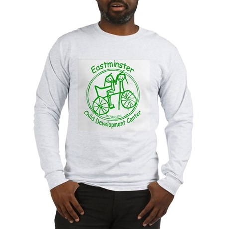 Green Logo Long Sleeve T-Shirt