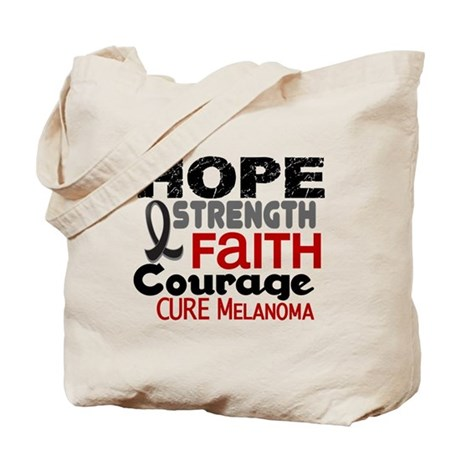 HOPE Melanoma 3 Tote Bag