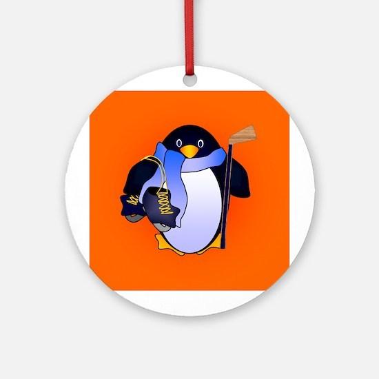 Penguin #3 Ornament (Round)