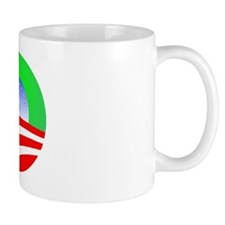 Obama Christmas Holiday Mug