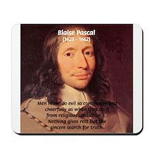 Mathematician: Blaise Pascal Mousepad