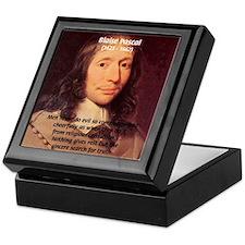 Mathematician: Blaise Pascal Keepsake Box