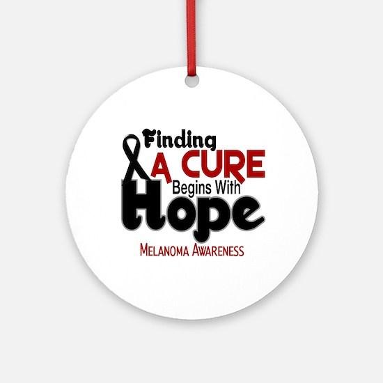 HOPE Melanoma 5 Ornament (Round)