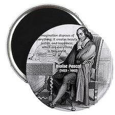 "Mathematics: Blaise Pascal 2.25"" Magnet (10 pack)"