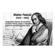 Mathematics: Blaise Pascal Postcards (Package of 8